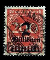 Germany 1923, #269,,Surchaged 1922-23 Stamp, 2Mil On 200mk, Used, LH - Deutschland