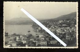 GRECIA - GREECE - PYLOS - NAVARINO 1942 PANORAMA - FOTOCARTOLINA UNICA!!! - Grecia