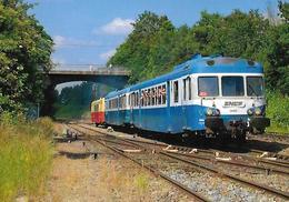TRAIN Montlucon Lapeyrouse  X 2900  X 2844  X 2403 - Trenes