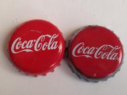 Lote 2 Chapas Kronkorken Caps Tappi Coca Cola. España - Other