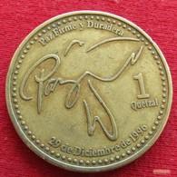 Guatemala 1 Quetzal 1999 KM# 284 - Guatemala