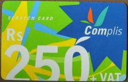 Mauritius - MU-CEL-REF-0005C, GSM Refill, Complis Rs 250 + VAT, Mint - Maurice