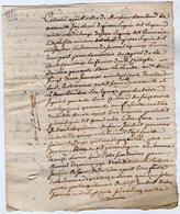 VP13.308 - ANGOULEME - Acte De 1771 Concernant Mr RAMBAUD De MAREUIL - Manuscripts