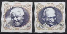 India (2018)  - Set -   /  Joint Issue With South Africa - Mandela - Gandhi - Gezamelijke Uitgaven