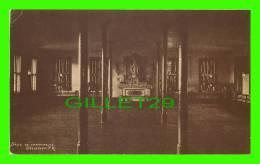 TROIS-RIVIÈRES, QUÉBEC - SALLE DE COMMUNAUTÉ DES URSULINES AVANT LA RESTAURATION DE 1978 - WARWICK BRO'S & RUTTER LTD - - Trois-Rivières