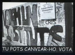 Barcelona. *Tu Pots Canviar-ho. Vota* Imp. Postalfree. Nueva. - Partidos Politicos & Elecciones