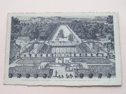 Le PARTERRE, Les CASCADES Et L'ETANG Fontainebleau Ancien ( LL ) Anno 19?? ( Voir Photo ) ! - Fontainebleau