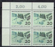 BRD 1969 // Mi. 592 ** 4er (030..498) - [7] Repubblica Federale