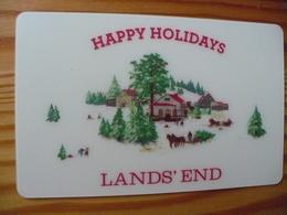 Land's End Gift Card USA - Christmas 2012 - Gift Cards