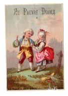 Chromo BOGNARD, Sorisi Bog 2-27 / 6, 18 ème Siècle, Enfants Avec Perruques, Au Pauvre Diable - Cromos