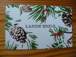 Land's End Gift Card USA - Christmas 2013 - Gift Cards