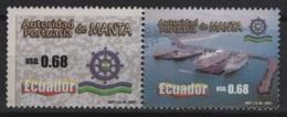 Ecuador (2001) Yv. 1590/91  /  Ships - Bateaux - Barcos - Barcos