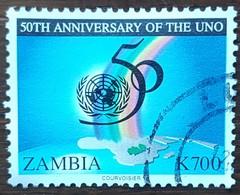 Zambie - YT N°600 - ONU / Nations Unies - 1995 - Oblitéré - Zambie (1965-...)
