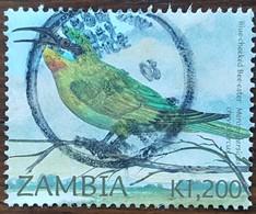 Zambie - YT N°1211 - Oiseaux / Guêpiers - 2002 - Oblitéré - Zambie (1965-...)