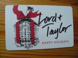 Lord & Taylor Gift Card USA - Christmas, Flag - Cartes Cadeaux