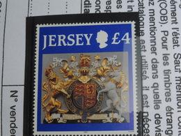 Jersey Armoiries 4 Livres 672 Yvert Et Tellier Luxe ** - Jersey