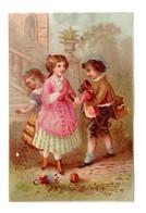 Chromo BOGNARD, Sorisi Bog 2-44, Amusements Enfantines - Chromo
