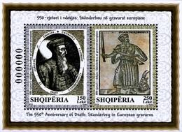 Albania Stamps 2018. The 550-th Anniversary Of Death: Skanderbeg In Gravures. Block MNH - Albania
