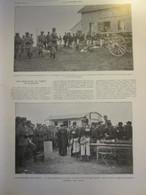 1913 Au Sommet Des VOSGES    Une Rencontre Au Somme Du HOHNECK    Remiremont Chasseurs à Pied Francais Et Allemands - Vieux Papiers