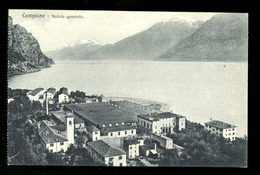 CAMPIONE  SUL GARDA - BRESCIA - INIZI 900 - VEDUTA GENERALE - Brescia