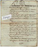 VP13.313 - Cachet Généralité De LA ROCHELLE - Acte De 1776 - Comptes De Tutelle Sr MARCHAIS à ROCHEFORT - Seals Of Generality