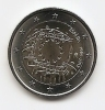 2015-MONEDA 2 EUROS. 30 AÑOS DE LA BANDERA EUROPEA . SIN CIRCULAR - España