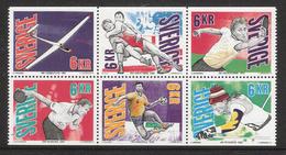 Sweden 1993 International Sports Championships Mi 1761-1766 MNH(**) - Schweden