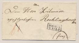 Deutschland - Folded Cover From BOCHUM To Recklinghausen - Deutschland