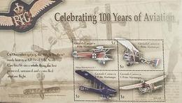 L) 2003 GRENADA, CELEBRATING 100 YEARS OF THE AVIATION, AIRPLANE, SOUVENIR SHETT, MNH - Grenada (1974-...)