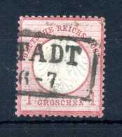1872 IMPERO N.4 USATO - Germania