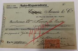 PORTUGAL  AUTO REPARADORA ACCACIO E COMP. RUA DA LIBERDADE 69 PORTO - Portugal