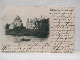 Serinchamps (Haversin). Château. Barque. 1908 - Ciney