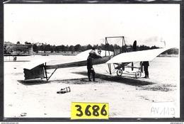 1579 AV119 AK PC CARTE PHOTO LE MONOPLAN ODIER VENDOME A ISSY EN 1910 PHOT. S.A.F.A.R.A. NC TTB ( - ....-1914: Precursori