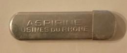 PETIT TUBE ANCIEN DE MEDICAMENTS  -  ASPIRINE -  Usines Du Rhone - Matériel Médical & Dentaire
