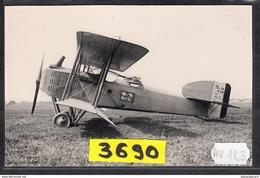 1583 AV123 AK PC CARTE PHOTO GUERRE 14 18 LE FAMEUX BIPLAN BREGUET 14 PHOT. S.A.F.A.R.A. NC TTB - ....-1914: Precursori