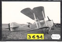1584 AV124 AK PC CARTE PHOTO GUERRE 14 18 BIPLAN BREGUET 16 B N BOMBARDIER DE NUIT PHOT. S.A.F.A.R.A. NC TTB - ....-1914: Precursori