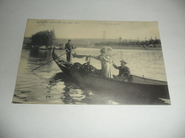 Liège:exposition Universelle De Liège 1905 Promenade En Gondole - Luik