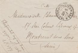 LSC - Cachet TRESORS Et POSTES 177 - Secteur 177 - Marcophilie (Lettres)
