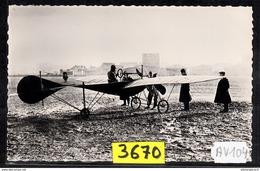 1563 AV104 AK PC CARTE PHOTO LE MONOPLAN JOHN MOISANT 1910 PHOT. S.A.F.A.R.A. NC TTB ( - ....-1914: Precursori