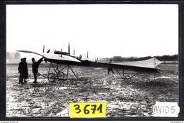 1564 AV105 AK PC CARTE PHOTO LE MONOPLAN ROSSEL PEUGEOT PILOTE PAR GOUX A ISSY 1910 PHOT. S.A.F.A.R.A. NC TTB - ....-1914: Precursori