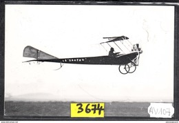 1567 AV107 AK PC CARTE PHOTO LE DANTON DE DENHAULT EN VOL A JUVISY EN SEPTEMBRE 1910 PHOT. S.A.PHOT. S.A.F.A.R.A. NC TTB - ....-1914: Precursori