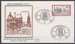 BRD FDC 1973 Nr.788 Aachen (d 4520 ))günstige Versandkosten - FDC: Briefe