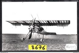 1569 AV108 AK PC CARTE PHOTO MONOPLAN H. FARMAN A MOURMELON EN 1910 PHOT. S.A.F.A.R.A. NC TTB - ....-1914: Precursori