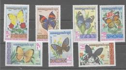 Serie De Kampuchea Nº Yvert 369/75 ** - Kampuchea