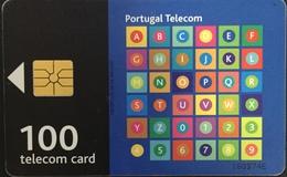 Paco \ PORTOGALLO \ PT243 \ Abecedario E Números - Couple \ Usata - Portogallo
