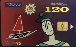 Paco \ PORTOGALLO \ PT050 \ Verão 1995 (Chip) - 120 Imp. \ Usata - Portogallo