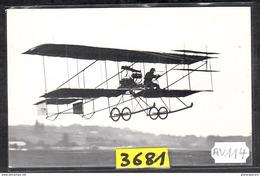 1574 AV114 AK PC CARTE PHOTO AEROPLANE CHAPIRO N° 2 VOLE A JUVISY EN 1910 PHOT. S.A.F.A.R.A. NC TTB - ....-1914: Precursori