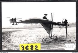 1575 AV114 AK PC CARTE PHOTO LE MONOPLAN KAUFFMANN N°1 EN 1910 PHOT. S.A.F.A.R.A. NC TTB - ....-1914: Precursori