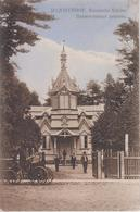 CPA Lettonie - Majorenhof - Russische Kirche (avec Animation Et Attelage) - Lettonie
