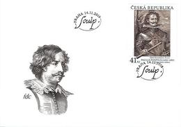 FDC 1012 Czech Republic PAULUS PONTIUS (1603–1658): DIEGO DE GUZMÁN 2018 - Art